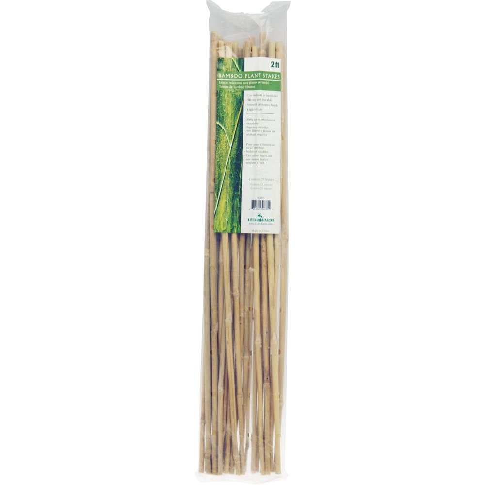 24 inch Bamboo Stakes (60cm) - Pack of 25